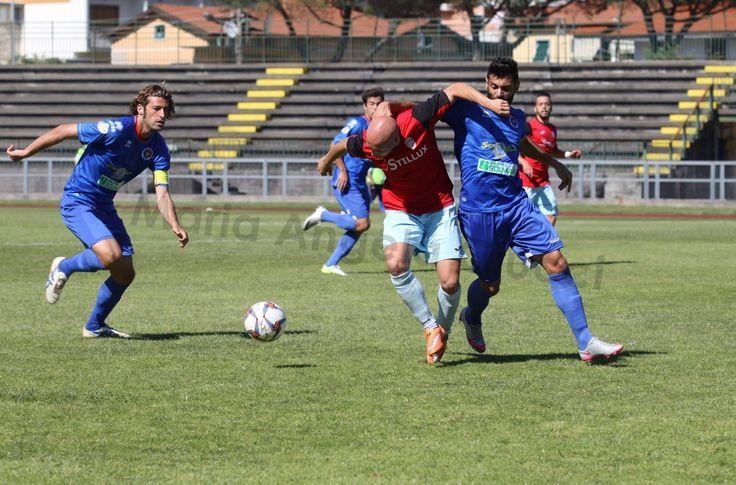 Giornata dura anche per Claudio Santini