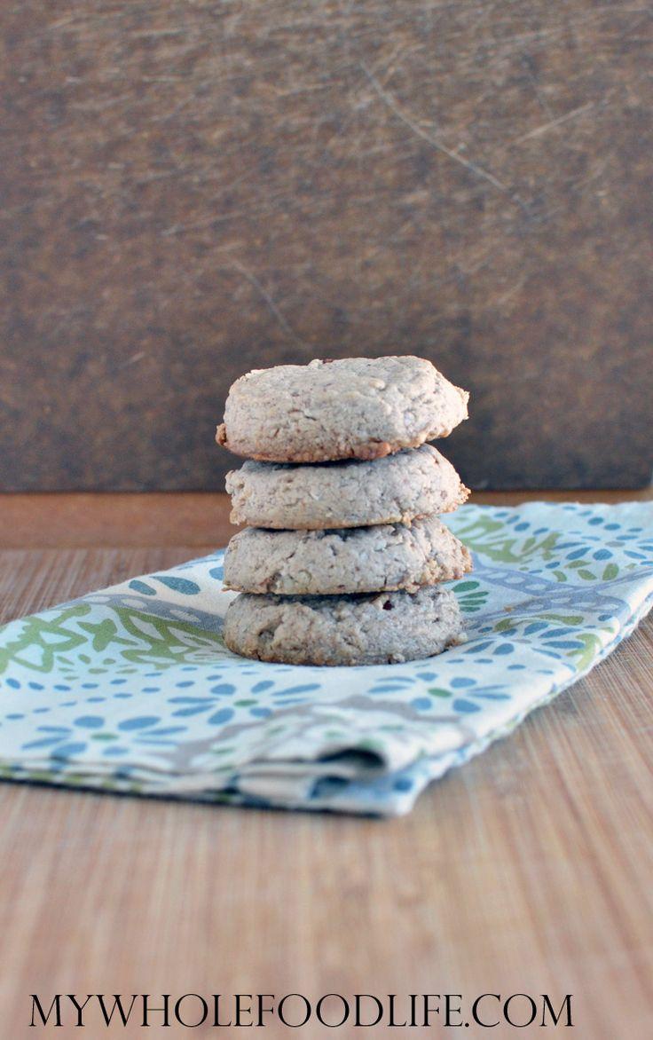 Coconut Pecan Cookies  #MyWholeFoodLife #JustEatRealFood