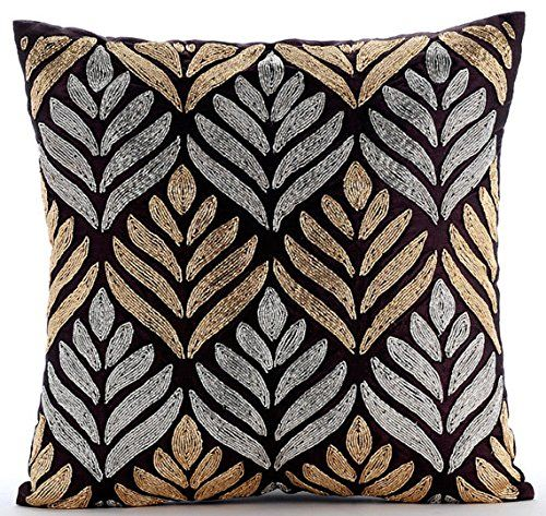 Designer Plum Cushion Covers, Gold & Silver Lattice Trell... https://www.amazon.co.uk/dp/B016460GYI/ref=cm_sw_r_pi_dp_x_MkDazbM8WYZPZ