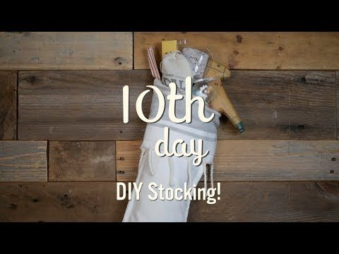 (16) Santa Baby | DIY Turkish Towel Stockings - YouTube