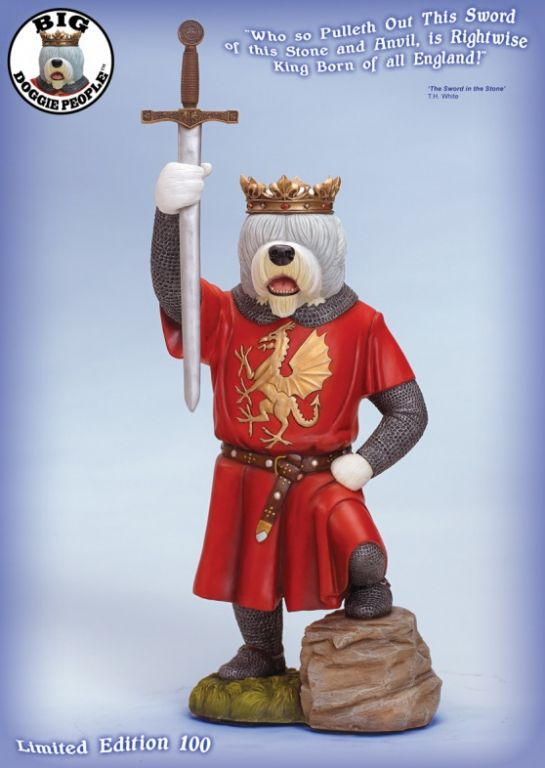 Old English Sheepdog -- King Arthur