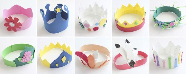 Mamà recicla: Noves corones d'aniversari / Nuevas coronas de aniversario / Novas coroas de aniversário