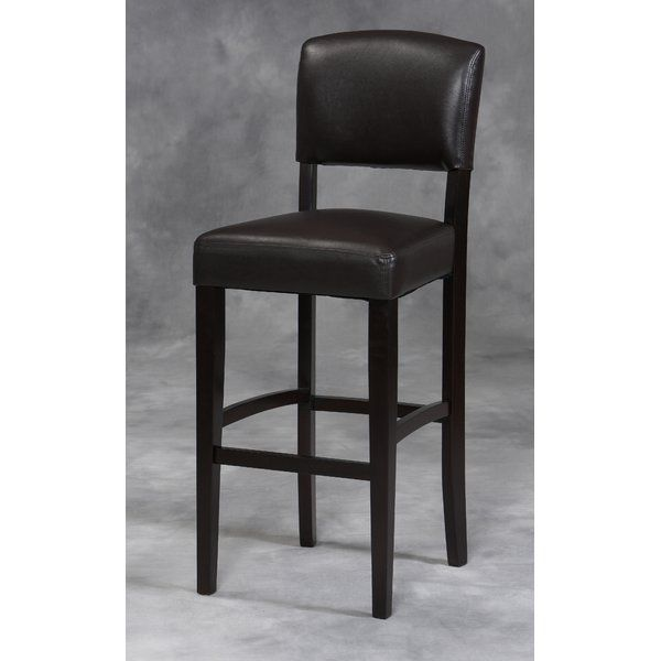"""Add a dash of style to your home bar with the Caldwell 30"""" Bar Stool"""