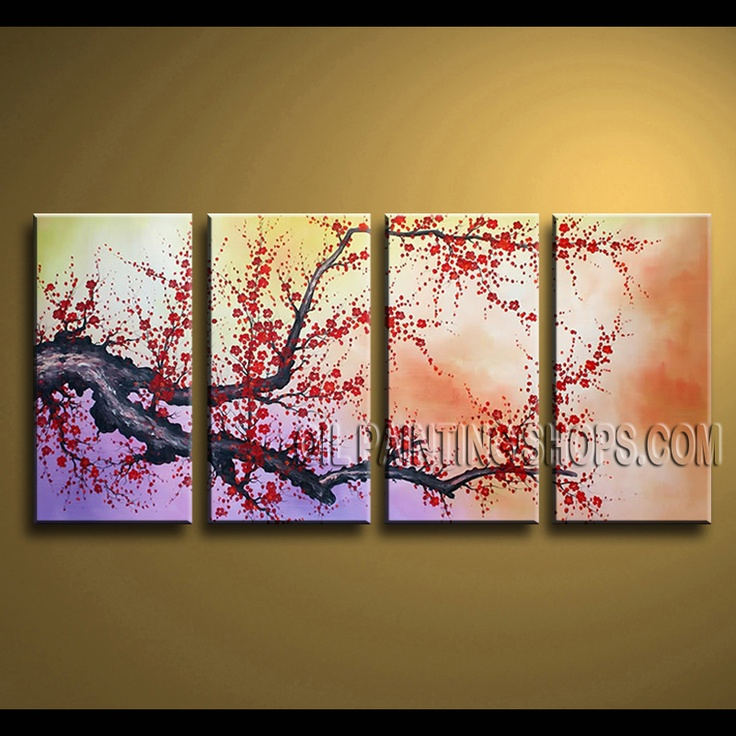 Cherry Blossom Canvas Wall Art 28 best floral paintings - cherry blossom images on pinterest