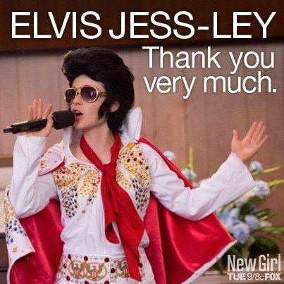 Elvis Jess-Ley. New Girl Season 2 #newgirl