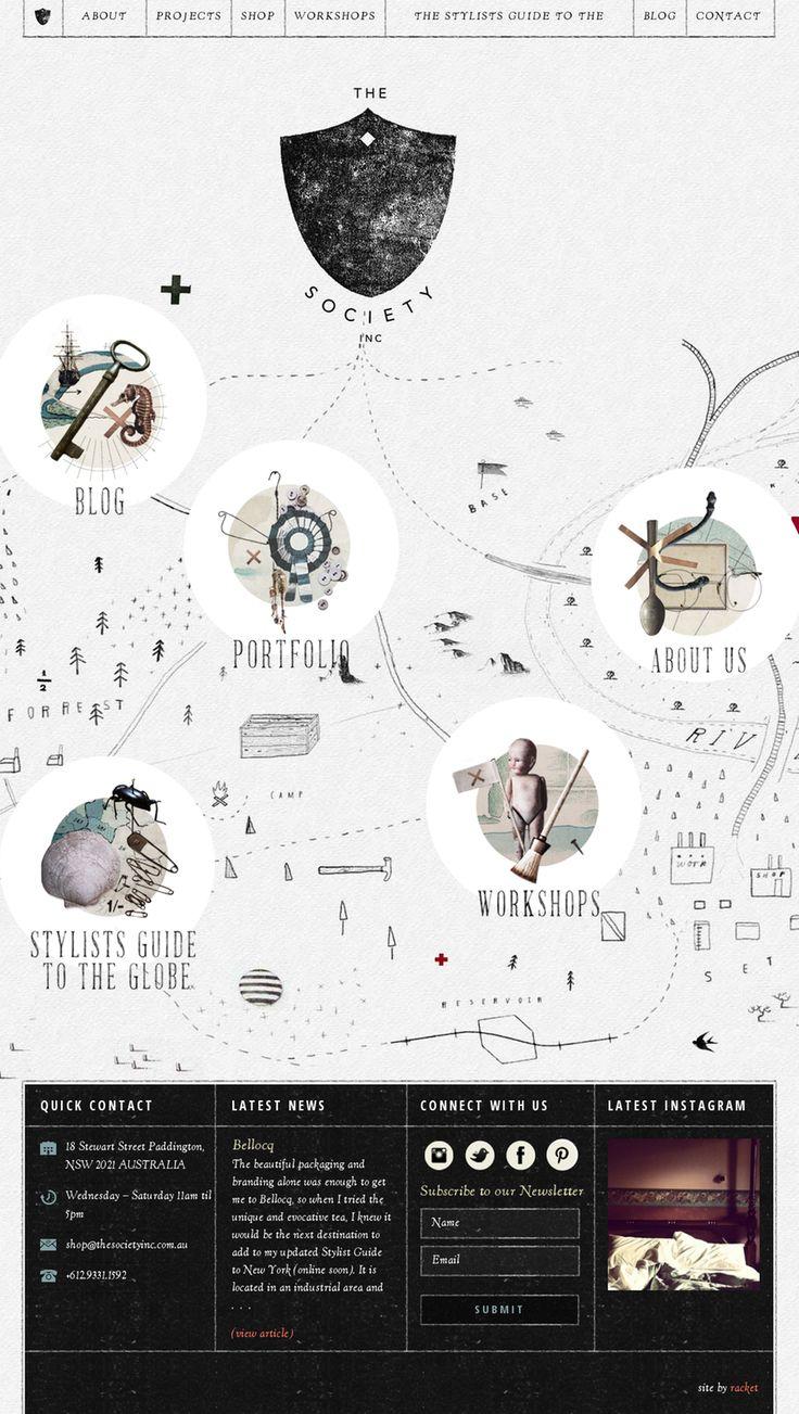 Website inspiration The Society Inc | #webdesign #it #web #design #layout #userinterface #website #webdesign < repinned by www.BlickeDeeler.de | Take a look at www.WebsiteDesign-Hamburg.de