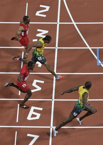 Usain Bolt (Jamaica) - Track & Field 100m gold - Olympic record 9.63 seconds