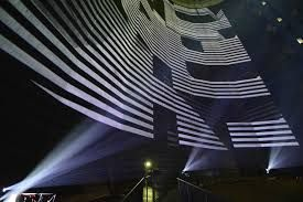 Image result for projection on buildings