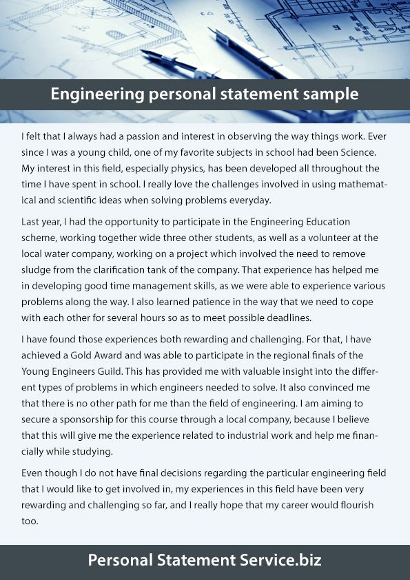 Personal statement service (callahanduarte) on Pinterest - personal statement sample