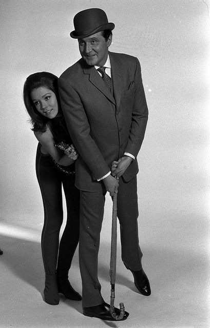 John Steed and Mrs. Emma Peel.... they should have gotten married
