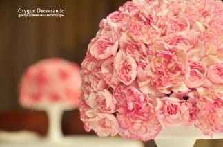 Свадьба в коралловых и персиковых тонах — ресторан Le Vernissage | Decorsando.ru