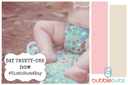 Cloth Shot a Day - Day 21 Now - #clothnappies #clothshotaday #getintocloth