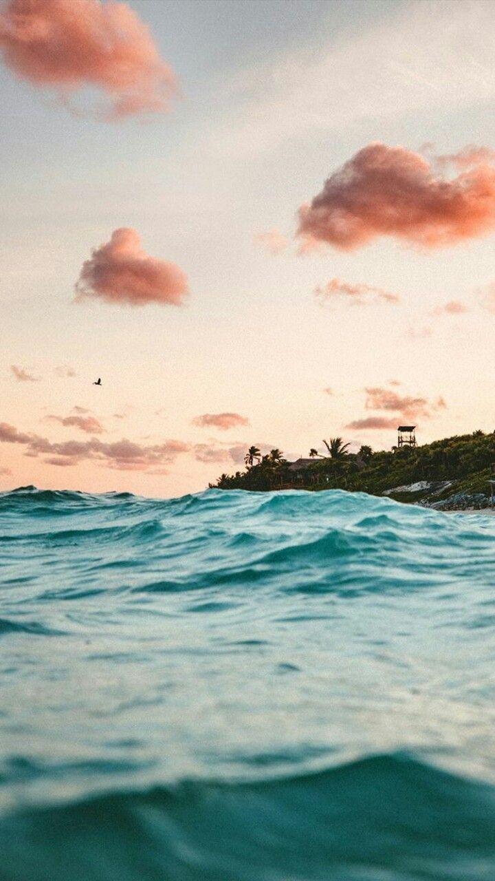 Travel Wanderlust Beach Waves Wallpaper Summer Waves Best Iphone Wallpapers