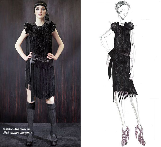 «Великий Гэтсби»: экскурс по коллекциям Prada |Осень-зима 2016-17 на Fashion-fashion.ru