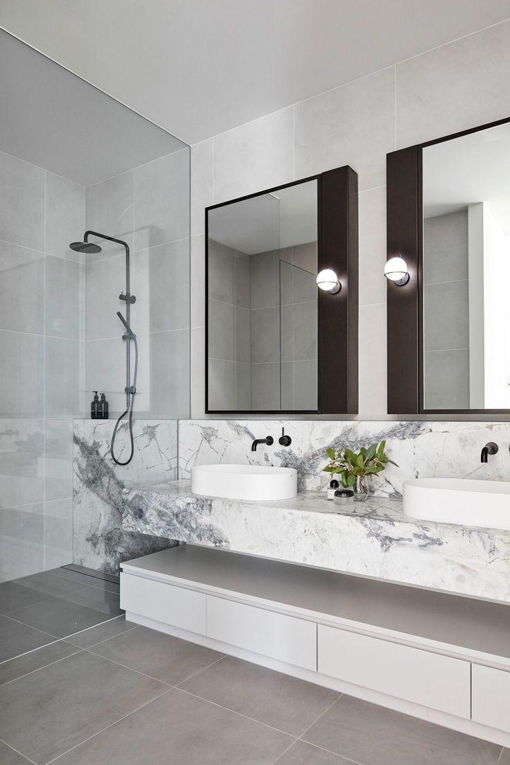 21+ idées de miroir de salle de bain Inspiration avec un design parfait