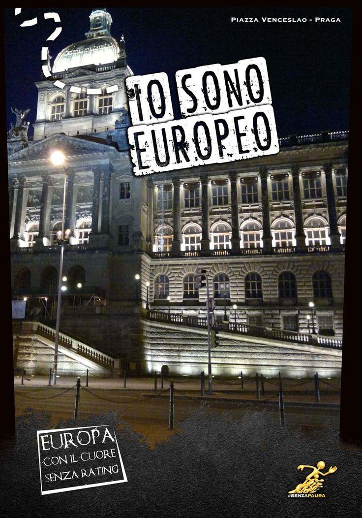 Io sono Europeo - Mostra ad Atreju 2012 - Praga