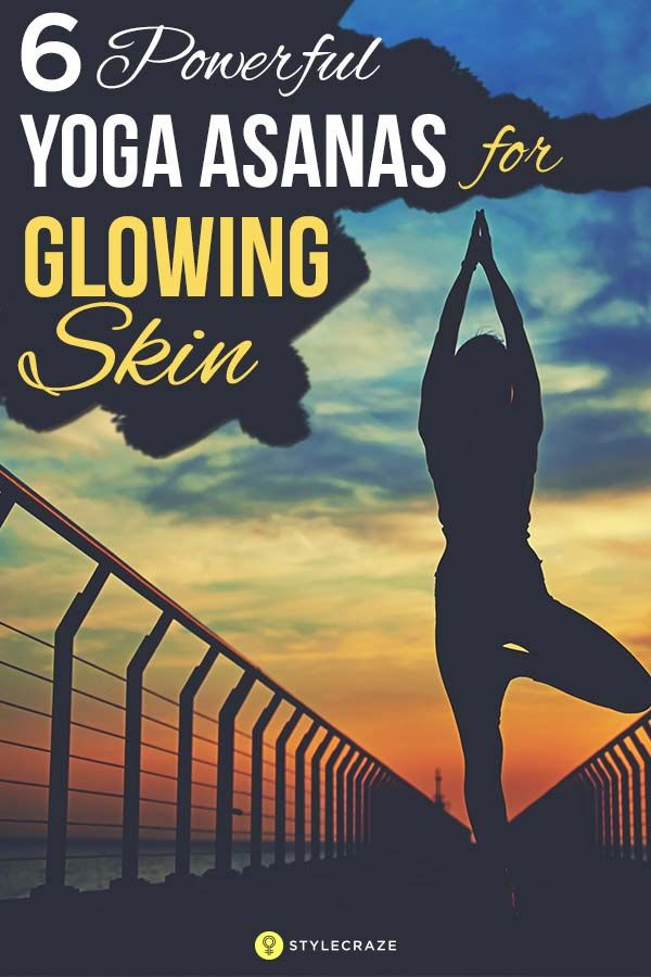 "Yoga has had a spectacular impact on my life."" Shilpa believes that yoga encourages proper blood circulation, which, in turn, improves the skin as it feeds the cells the required nutrients and flushes out toxins. 6 Powerful Yoga Asanas For Glowing Skin"