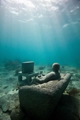Underwater Sculptures in Grenada