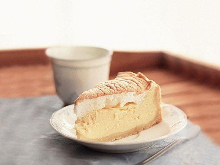 DIY tutorial: Cheesecake met eiwit-schuim-topping via DaWanda.com