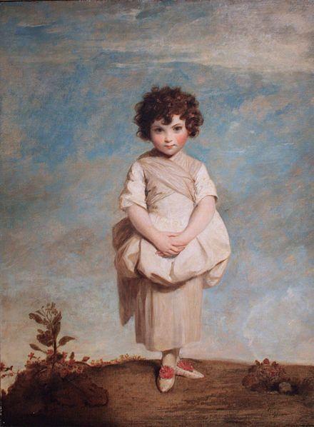 Collina, toile de Joshua Reynolds. la peinture en 1779 sur Commons