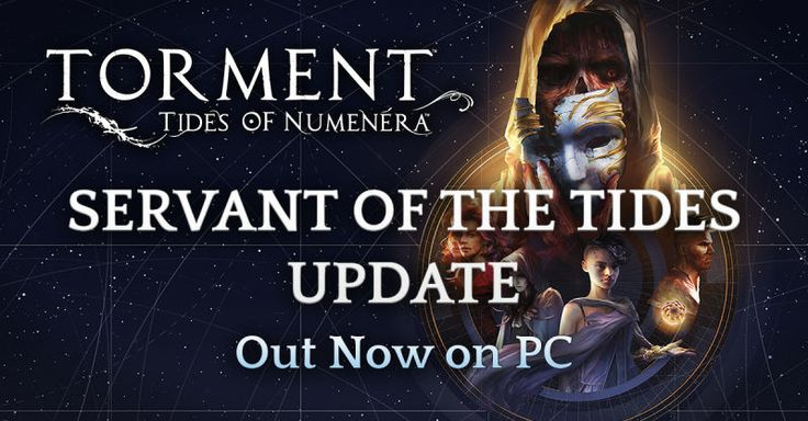 Torment: Tides of Numenera just got a big update.