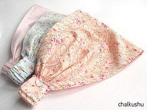 Платочек на резинке для девочек МК | Ярмарка Мастеров - ручная работа, handmade