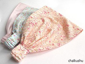 Платочек на резинке для девочек МК - Ярмарка Мастеров - ручная работа, handmade