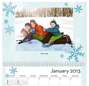 This free (just pay shipping) photo calendar  from Shutterfly is a great gift for grandparents.