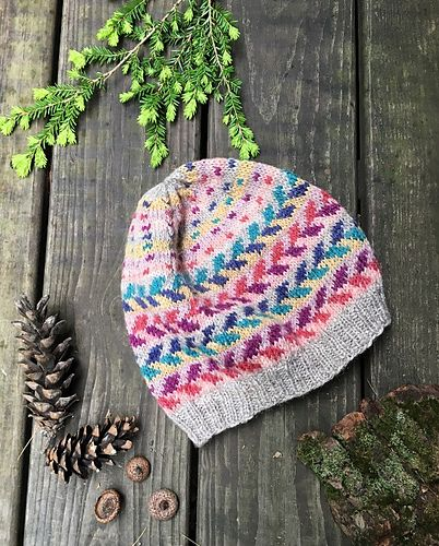 549 best Fair Isle/Stranded Hats, Mitts, Gloves images on ...