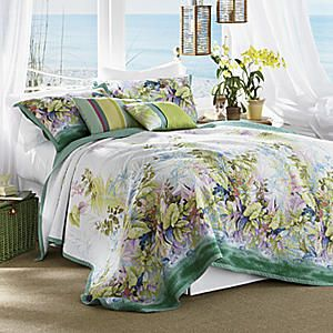 Paradise Island Oversized Quilt from Seventh Avenue ® | EE40099