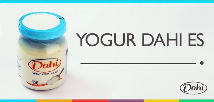 ¿Cómo describirías al yogur más rico? ¿Cuál es tu sabor favorito?¡Contanos! #Dahi #ElVerdaderoYogur