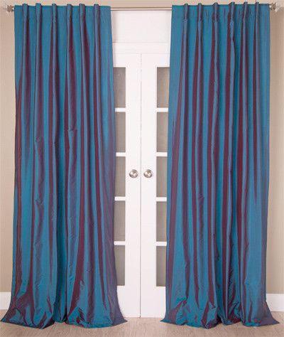 Faux Silk Taffeta/Polyester Drape Panels