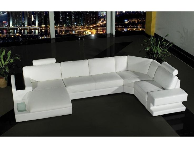 BK882 Modern Leather Sectional Sofa Set