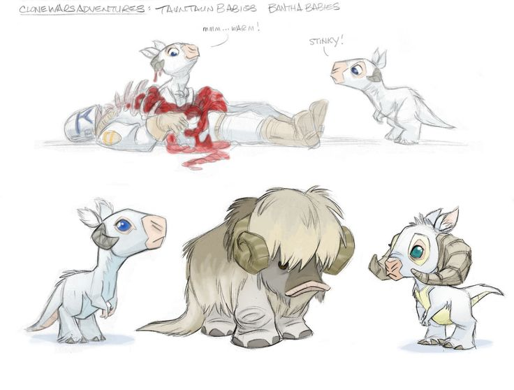 For Clone Wars Adventures we pitched pets of some creatures to Lucas and Co. and got shot down :p Here are some of them for your cuddly cravings….