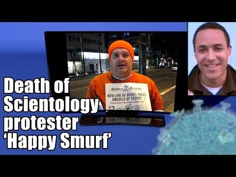 """(1541) Death of Sci protester """"Happy Smurf"""" - YouTube"""
