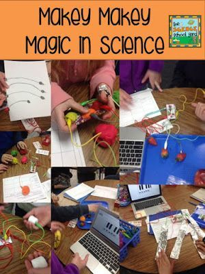 MaKeyMaKey + Science = STEM and STEAM awesomeness. Makey Makey Magic...a lesson in science and a freebie!  by The Science School Yard