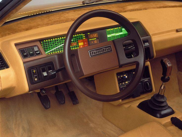 1979 Bertone Volvo Tundra interior