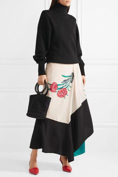 c33347805da Diane von Furstenberg - Mortelle Leather Slingback Pumps - Claret ...
