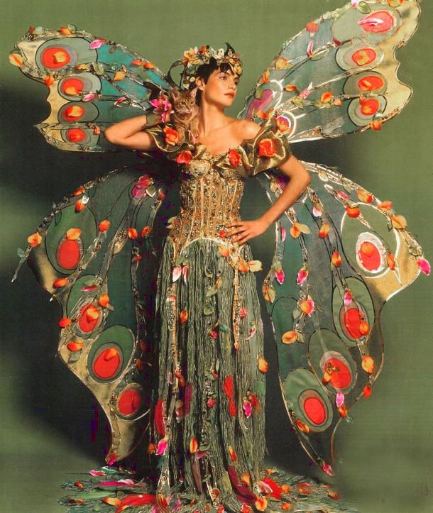 ♥ Romance of the Maiden ♥ The Look Butterfly Costume