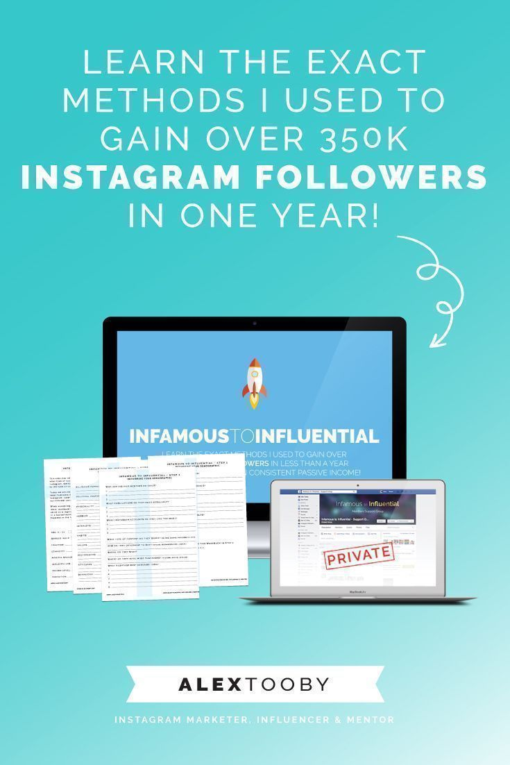 Alex Tooby is a total whiz when it comes to Instagram! She built her account /menandcoffee/ to over 350k followers in less than a year and boils it down to a 5 step process! She shares all of it in her Instagram course, Infamous to Influential. Definitely worth checking out!