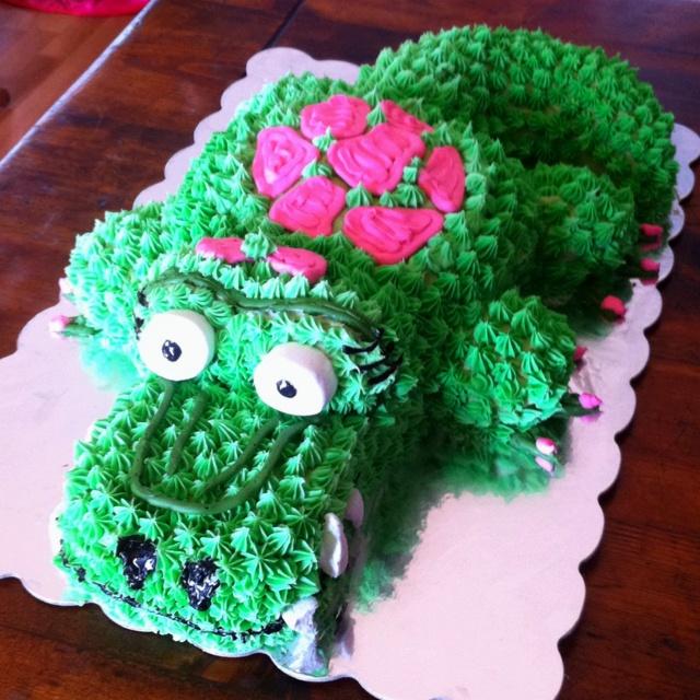 crockie cake for Cecilia's 1st birthday