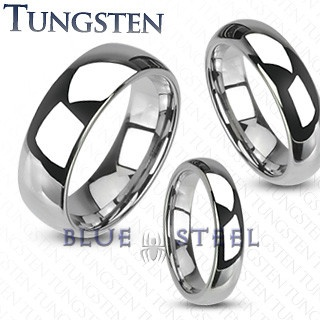 PIN IT TO WIN IT! Wedding Band: Tungsten shiny finish traditional wedding band represents everlasting love and will create magical memories for couples.  $109.99  www.buybluesteel.com