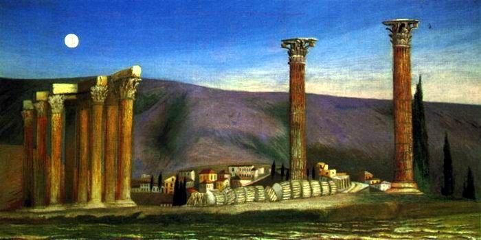 Csontváry Kosztka Tivadar: Jupiter templom romjai