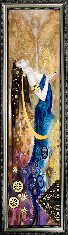Spirit & Life :: Artist Tom Fleming -  inner fire and vision, desire and intentionally in alignment with what she values