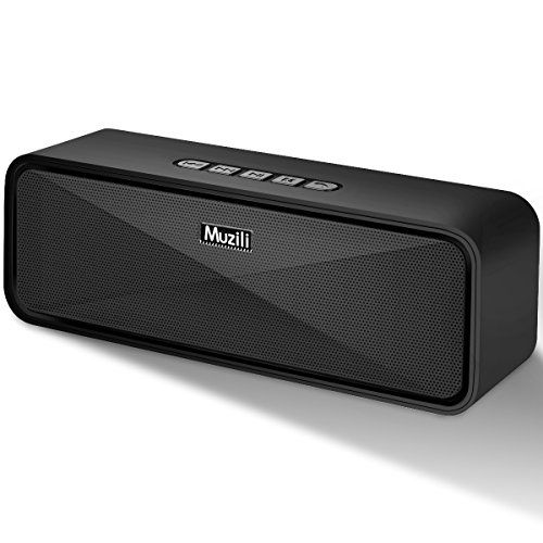 Portable Wireless Bluetooth Speakers,Muzili Outdoor Portable Stereo Speakers with HD Audio and Enhanced Bass Built-In Dual Driver Speakerphone Bluetooth 4.0/Handsfree Calling/ TF Card Slot. For product info go to:  https://www.caraccessoriesonlinemarket.com/portable-wireless-bluetooth-speakersmuzili-outdoor-portable-stereo-speakers-with-hd-audio-and-enhanced-bass-built-in-dual-driver-speakerphone-bluetooth-4-0-handsfree-calling-tf-card-slot/