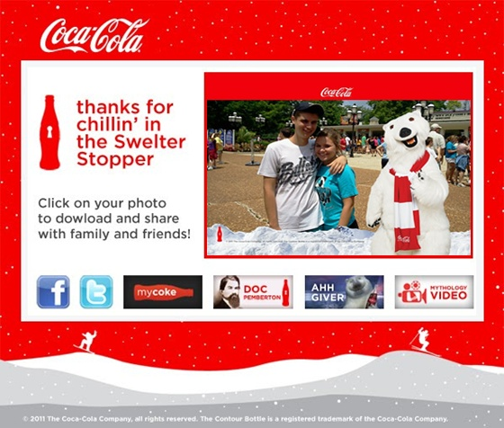 The 2011 Coca Cola Swelter Stopper Tour was a rousing success.