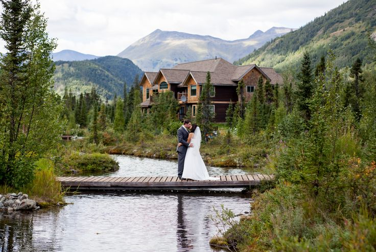 A Rustic Mountain Wedding at  Inn at Tern Lake in Moose Pass, Alaska