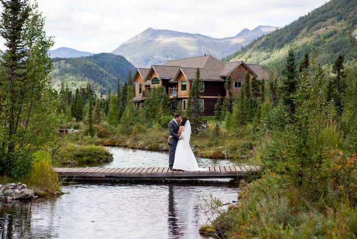 A Rustic Mountain Wedding at  Inn at Tern Lake in Moose Pass, Alaska