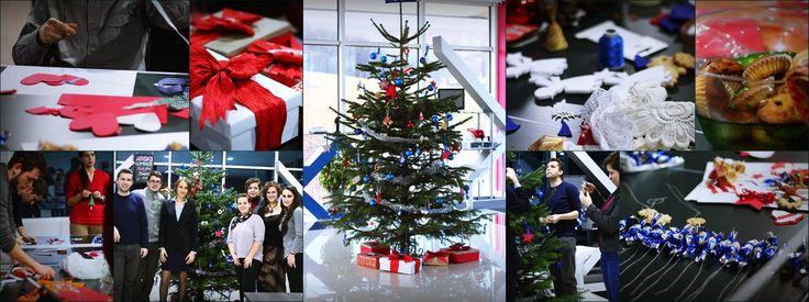 Echipa Navigator Software şi-a împodobit deja  pomul de Crăciun! Nimic nu poate fi mai plăcut decât să-ţi pregătești decoraţiuni handmade  împreună cu colegii tăi de serviciu! A fost un mic team building foarte reusit.