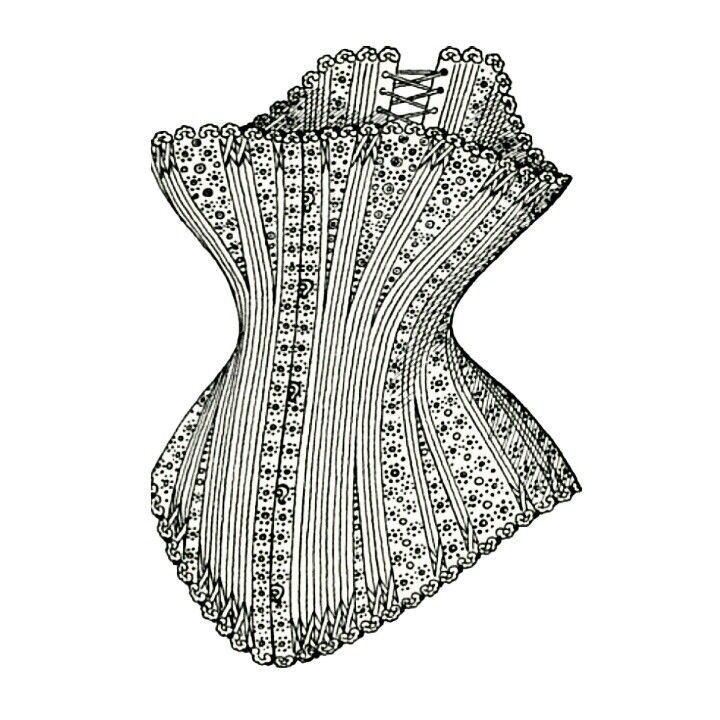 Sabíais que en el siglo XVIII los #corset llevaban un bolsillo en el cual se llevaba una navaja,  para que en el momento que no pudieran respirar...  Cortar las cuerdas? Ellas lo llevaban muy apretado las 24 horas del día. #corsetsmadrid #tocados #tocadoyhundido #manga